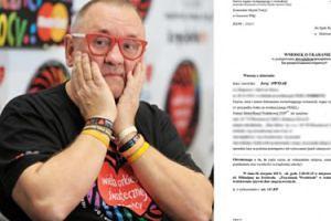 """Owsiak otrzymał wezwanie do sądu za przeklinanie na Woodstocku: """"Mam się stawić, to będę"""""""
