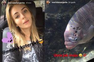 "Marcela Leszczak o rybie: ""Usta jak moje"""