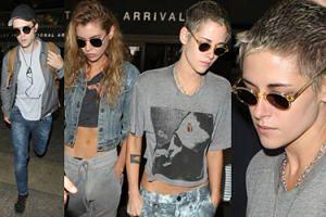Kristen Stewart utknęła w samolocie z Robertem Pattinsonem! (ZDJĘCIA)