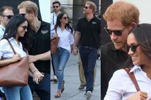 Książę Harry i Meghan Markle PO RAZ PIERWSZY RAZEM na zawodach w Toronto (ZDJĘCIA)