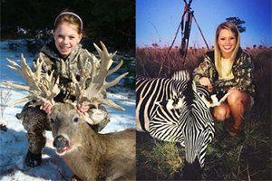 Jej hobby to polowania. Nastolatka w ogniu krytyki!