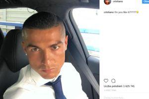 Cristiano chwali się nową fryzurą. SEKSOWNY? (FOTO)