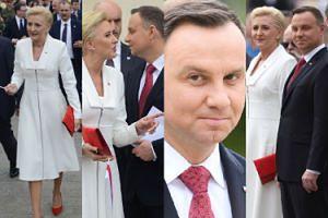 Patriotyczni Dudowie świętują Dzień Flagi w Warszawie (ZDJĘCIA)