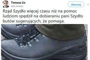 Kompromitacja Tomasza Lisa na Twitterze! Pomylił buty Szydło...