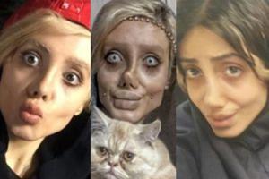 """17-letnia """"zombie Angelina"""" dementuje plotki: """"To nie jest moja prawdziwa twarz! TO MAKIJAŻ i Photoshop"""""""