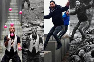 """""""Yolocaust"""": selfie przy Pomniku Pomordowanych Żydów Europy... (ZDJĘCIA)"""