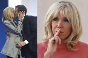 """Brigitte Macron wyznaje w swoim pierwszym wywiadzie: """"Młodsi mężczyźni nigdy mnie nie pociągali!"""""""