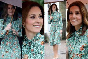 Księżna Kate ukrywa ciążę (?) pod sukienką za 8 tysięcy (ZDJĘCIA)