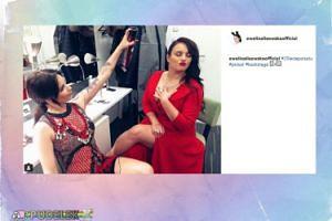 Lisowska i Farna za kulisami jubileuszu Polsatu