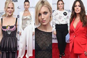 """""""Drapieżna"""" Anja Rubik, Nicole Kidman i Drew Barrymore na imprezie """"Glamour"""" w Nowym Jorku (ZDJĘCIA)"""