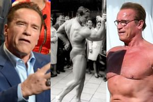 """Arnold Schwarzenegger: """"Chce mi się rzygać, jak na siebie patrzę!"""""""