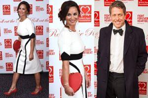 Pippa Middleton i Hugh Grant na balu charytatywnym w Londynie (FOTO)