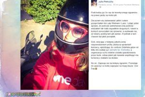 Julia Pietrucha nie zdała egzaminu na prawo jazdy