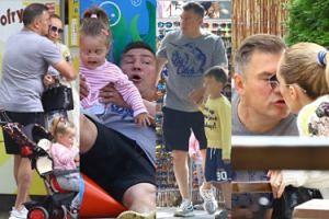 TYLKO U NAS: Michalczewski z żoną i dziećmi bawią się w Sopocie. Już po kryzysie? (ZDJĘCIA)
