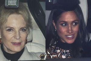 Kuzynka królowej założyła na spotkanie z Meghan RASISTOWSKĄ broszkę?