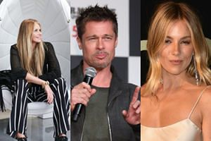 "Brad Pitt romansuje z 53-letnią Elle Macpherson?! ""Naprawdę OSTRO flirtowali"""