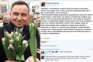 """Właścicielka restauracji do Andrzeja Dudy: """"Mam nadzieję, że jedzenie z mojego koryta smakowało!"""""""