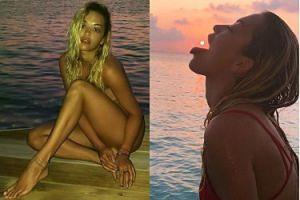 NAGA Rita Ora w serii zdjęć na Instagramie (FOTO)