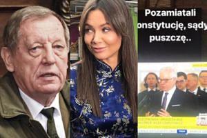 """Kinga Rusin komentuje odwołanie Szyszki: """"Udało się. Jego buta i arogancja SIĘGAŁY KOSMOSU!"""""""