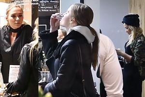 Kubicka z celebrytkami promują soki (WIDEO)