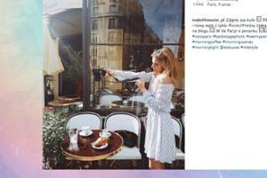 """Tak Kasia Tusk """"pracuje"""" w Paryżu (FOTO)"""