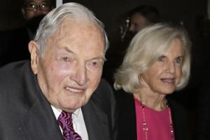 Nie żyje multimiliarder David Rockefeller. Miał 101 lat!