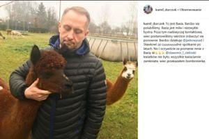 Kamil Durczok dumny z nowej koleżanki