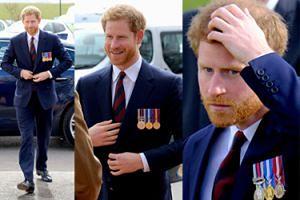 Książę Harry wspiera brytyjskich pilotów wojskowych. Przystojny? (ZDJĘCIA)
