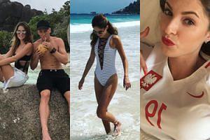 Intymne ujęcia, wakacje i pozowanie w bikini - tak wygląda życie nowej WAG (ZDJĘCIA)