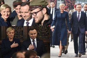 Prezydent z żoną pojechali na Wawel, by świętować z harcerzami (ZDJĘCIA)