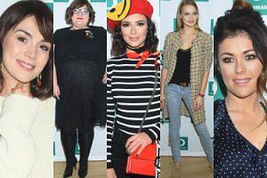 Celebrytki cieszą się z prezentacji obuwia: Krupińska, Gwit, Cichopek, Halejcio w stroju paryżanki... (ZDJĘCIA)