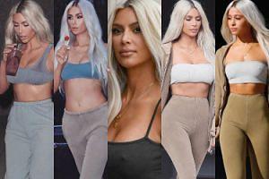Paris Hilton i gwiazdy Instagrama przebrały się za... klony Kim Kardashian! (ZDJĘCIA)