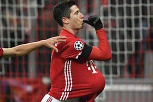 """Lewandowski: """"Chciałem zrobić tę cieszynkę dla dziecka i Ani"""""""
