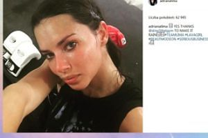 Spocona Adriana Lima po treningu (FOTO)