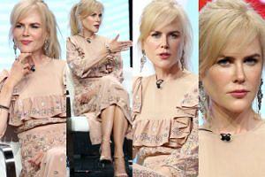 Coraz młodsza Nicole Kidman na spotkaniu z dziennikarzami. Na ile lat wygląda? (ZDJĘCIA)