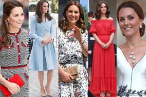 Zobaczcie NAJLEPSZE stylizacje księżnej Kate z 2017 roku (DUŻO ZDJĘĆ)