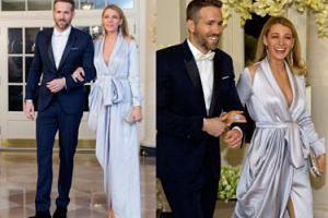 Blake Lively i Ryan Reynolds na kolacji u Baracka Obamy! (ZDJĘCIA)