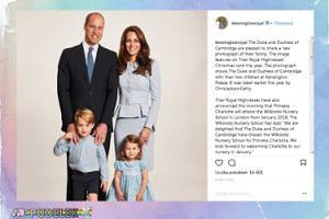 Kate i William pokazali świąteczną kartkę