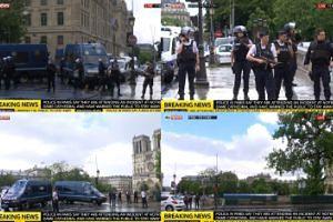 Z OSTATNIEJ CHWILI: CZŁOWIEK Z MŁOTKIEM zaatakował policjanta w Paryżu! 1500 ludzi zamkniętych w Notre Dame!