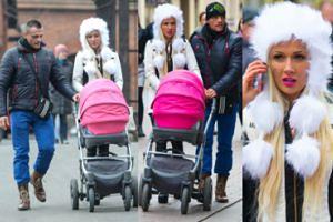 Trybson i Eliza na spacerze z córką... w Toruniu! (ZDJĘCIA)