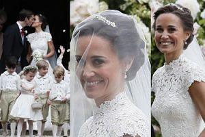 Ślub jak z bajki: Pippa Middleton wyszła za mąż za milionera! (ZDJĘCIA)
