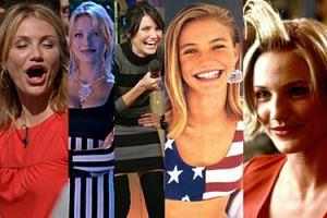 """Córka Kubańczyka, blondynka z """"Maski"""" i była dziewczyna Timberlake'a - Cameron Diaz kończy dziś 45 lat! (ZDJĘCIA)"""