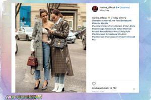 """Marina i Sara """"przyłapane"""" w Mediolanie. Stylowe?"""