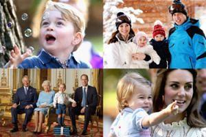 Zobaczcie NAJLEPSZE ZDJĘCIA brytyjskiej rodziny królewskiej w 2016 roku!