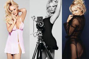 Seksowna Pamela Anderson wygina się w bieliźnie własnego projektu (ZDJĘCIA)
