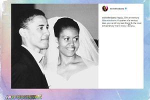 Michelle Obama mistrzynią składania życzeń w internecie