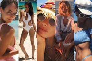 Modelki chwalą się wakacjami na Instagramie: Rubik, Bijoch, Ratajkowski, Ambrosio... (DUŻO ZDJĘĆ)