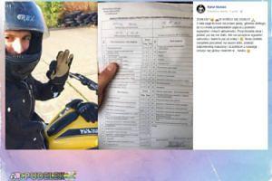 Sukces Rafała Maślaka. Zdał prawo jazdy na motocykl