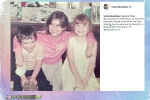 Victoria Beckham pokazała stare zdjęcie