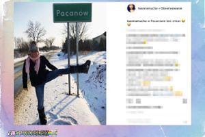 Anna Mucha odwiedziła Pacanów